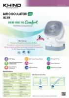 Khind JAC81R Air Circulator ( 2 years warranty ) Good quality