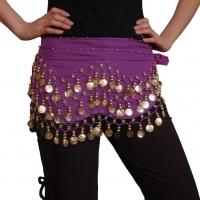 Belly Dance Indian Dance Gold Coins Waist Chain Waist Belt