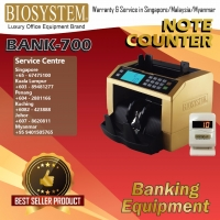 BIOSYSTEM NOTE COUNTER BANK 700