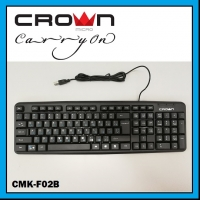 CROWN MICRO Wired Keyboard CMK-F02B