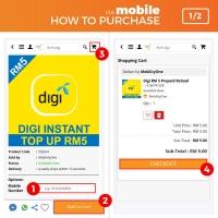 U Mobile RM 50 Prepaid Reload