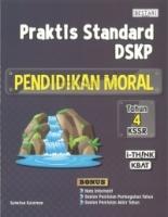 Bestari Praktis Standard DSKP Pendidikan Moral KSSR Tahun 4
