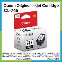 Canon Original Inkjet Cartridge PG-745 PG745 PIXMA MG2570S MG-2570S MG3070S MG-3070S TS207 TS-207 TS307 TS-307 iP2870S iP-2870S Printer Ink