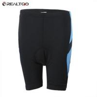 REALTOO BREATHABLE BIKE CYCLING SHORTS PANTS (LAKE BLUE)