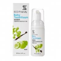 ERH Eco Organic Baby Tooth Foam (Green Apple) 50ml