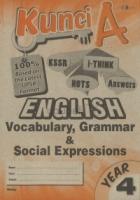 Cemerlang Kunci A English Vocabulary, Grammar & Social Expressions Year 4