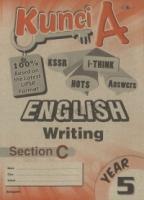Cemerlang Kunci A English Writing Section C Year 5