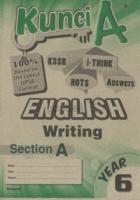 Cemerlang Kunci A English Writing Section A Year 6