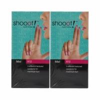 2 Boxes  SHOOOT MIX! Condom / Kondom 12's