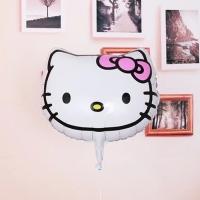 Hello Kitty Face / Head Foil Balloons 45 x 46cm