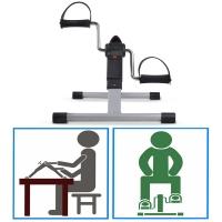 Foldable Rehabilitation Mobility Pedal Leg Arm Exercise Bike Trainer Exerciser Cycling Cycle PEB-B301