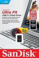 MEGA CLEARANCE! SanDisk Ultra Fit CZ430 128GB USB 3.1 Flash Drive - SDCZ430-128G