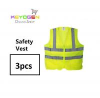 3 pcs Keyogen Velcro Reflective road Safety Vest Coat