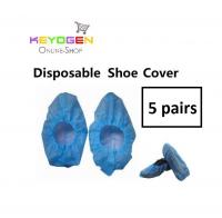 5 pairs keyogen Disposable Plastic Shoe Covers