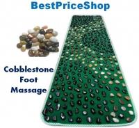 Best Parents Gift REAL Pebble Cobblestone Reflexology Massage Mat