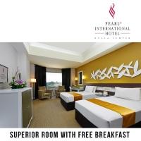 Pearl International Hotel KL : Room + Free Breakfast (Near Sunway Lagoon)