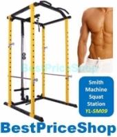 Smith Machine Workbench Squat Power Rack Station Bench Press...