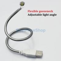 Portable Flexible USB LED Reading Light Lamp Torch
