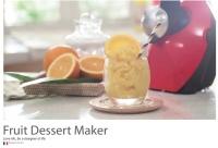 Cooksclub Fruits Dessert Maker FDM-1310