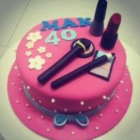A Makeup Cake