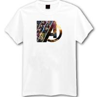 Avengers vs Thanos White T-Shirt