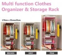 Multi function Clothes Organizer & Storage Rack / Open Closet