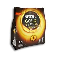 Nescafe Gold Blend With Crema Premix Coffee 15s x 20g