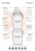 Hegen PCTO 150ml/5oz Breast Milk Storage (4 Pack) BPA FREE / BPS FREE / PPSSU