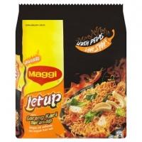 Maggi Letup Goreng Kari Berasap Instant Noodles 4 x 119g