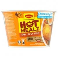 Maggi Hot Mealz Kari Laksa Ayam Instant Bowl Noodles 99g
