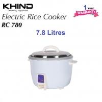 Khind Rice Cooker RC780 Aluminium Inner Pot Auto keep warm function