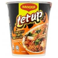 Maggi Letup Goreng Kari Berasap Instant Cup Noodles 64g