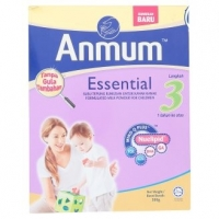 Anmum Essential Step 3 Plain Formulated Milk Powder for Children 1 Year and Above 500g