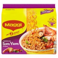 Maggi 2 Minute Tom Yam Instant Noodles 5 x 80g