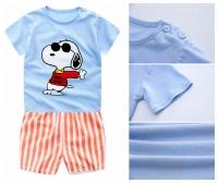 Snoopy Clothing Set (Blue)