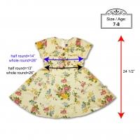 Short Sleeve Cotton Twill Dress (10Yrs Old)