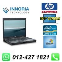 "(Refurbished) HP Compaq 6910 Laptop / Notebook / 14"" LCD Screen / Intel Core 2 Duo / 80GB Hard Disk / 2GB DDR2 Ram / DVD Writer / Windows 7"