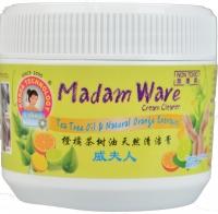 MADAM WARE CREAM CLEANER 300ML (TEA TREE OIL / NATURAL ORANGE EXTRACT)