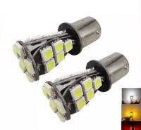 100X Canbus Led 5050 21SMD Car Ba15s 1156 7506 P21W Reverse Backup lights Bulb For BMW 128i 135i M6 323i 328i