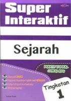 SUPER INTERAKTIF SEJARAH TG1