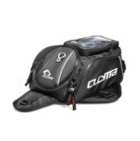 Motorcycle Black Tank Bags Multifunction Motos Luggage Universal Motorbike Oil Fuel Tank Bags Seat Tail Pack Genuine MEMAT