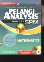 PELANGI ANALYSIS MATHEMATICS FR4&5 SPM