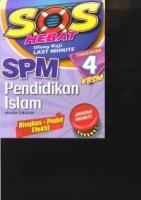 SOS HEBAT PENDIDIKAN ISLAM TG4 KBSM SPM