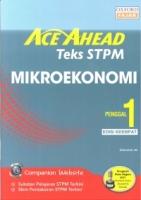 ACE AHEAD MIKROEKONOMI PENGGAL1 STPM TEKS