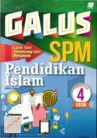 GALUS PENDIDIKAN ISLAM TINGKATAN 4 KBSM SPM