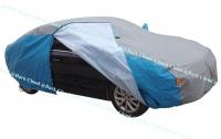[DARK CLOUD - HOT DEAL - PEVA(GRAY + BLUE)] EXTRA THICK CAR VEHICLE COVER BELT LOCK / FABRIC