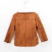 包邮ready stock现货B131=秋冬短款麂皮绒羊羔毛内胆外套 winter short suede lamb wool coat jacket