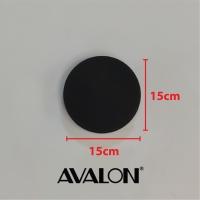 Avalon outdoor Modern Wall Light Avalon(YP-W-W3162-R-WW-BK)