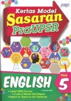 SASARAN KERTAS MODEL PRA UPSR ENGLISH YEAR 5 2018