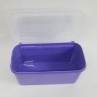 Tupperware Ezy Keeper Rect Small 2.6 L Purple ( Set of 1 )